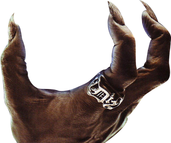 Demon hand png. Halloween graphics devilpng