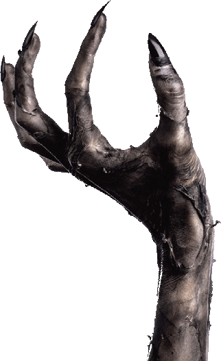 Demon hand png. Escape krampus is a