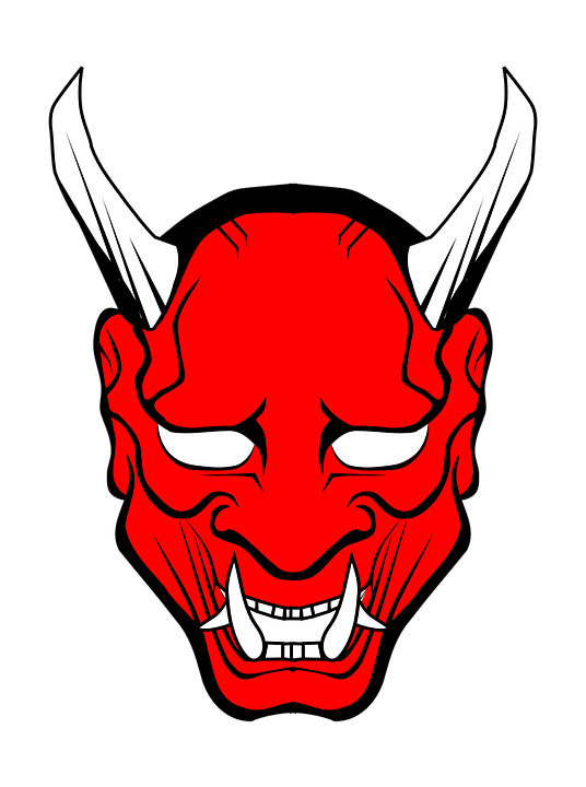 Transparent masks demon. Png image purepng free