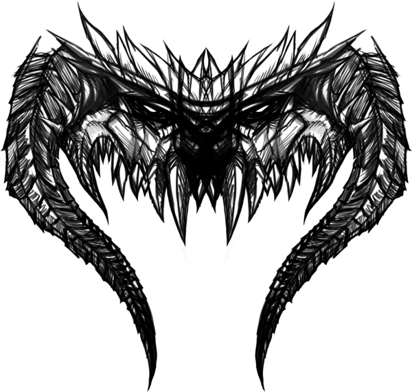 Demon head png. By shadowpriest on deviantart