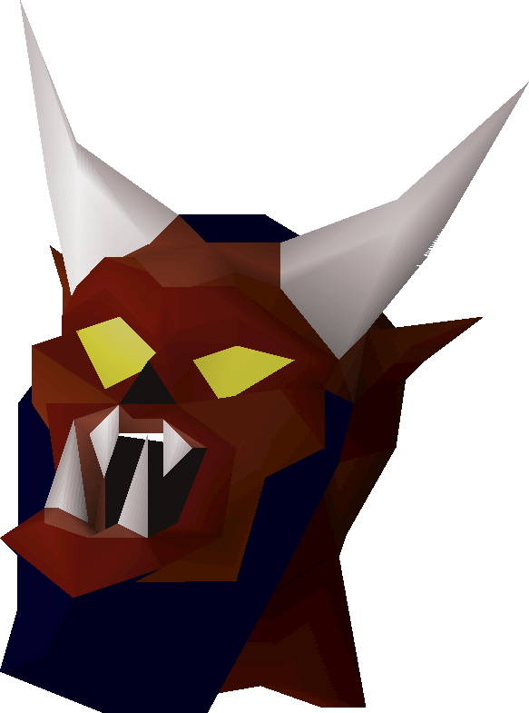 Transparent masks demon. Greater mask osrs wiki