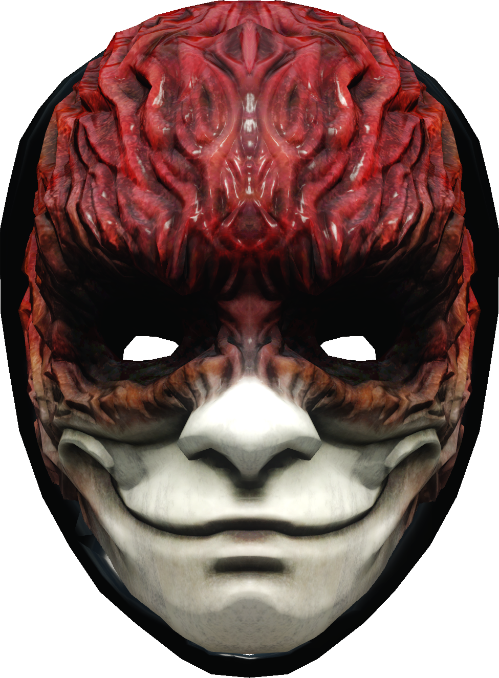 Transparent masks demon. The new trickster mask