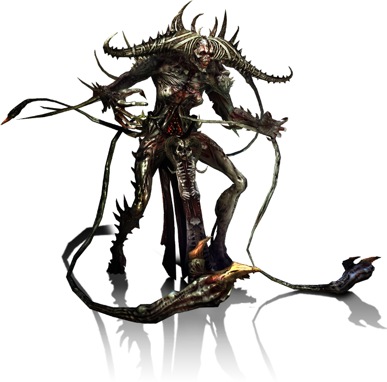 Demon png. Image creature hunted wiki