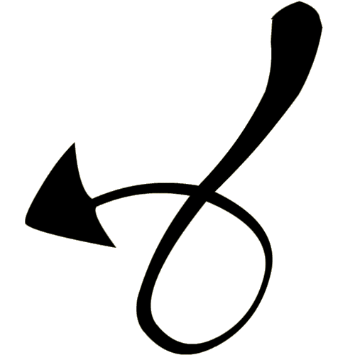 demon tail png