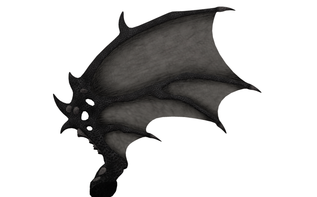 Demon wings png. Realistic image