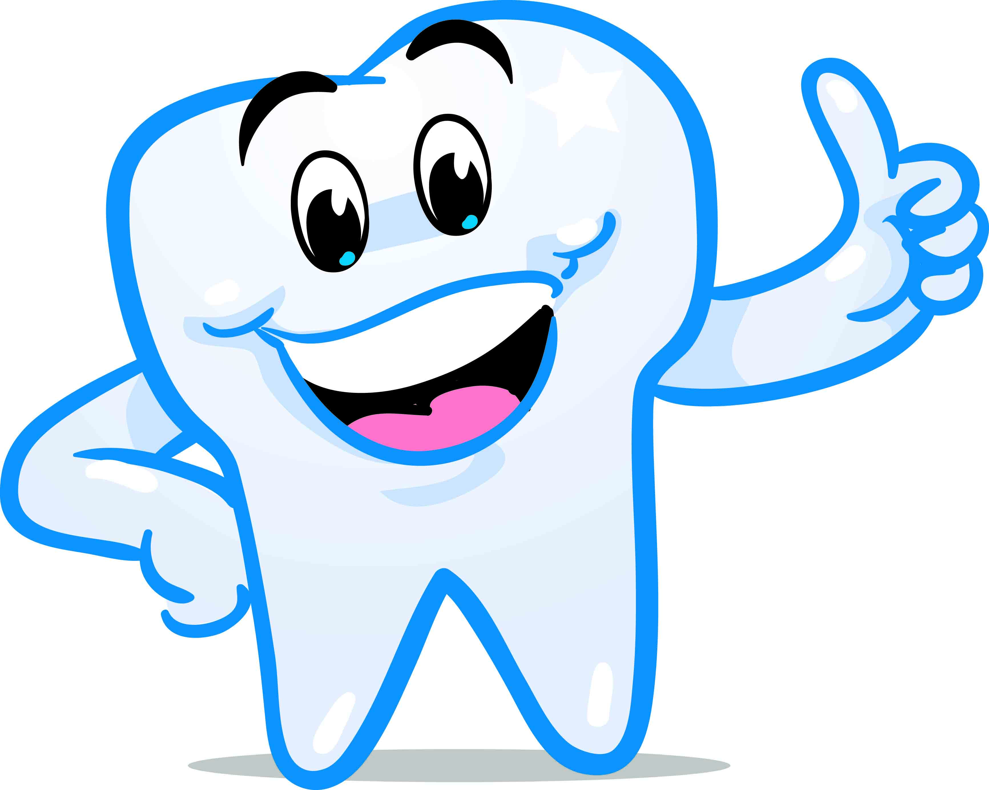 Big smile with teeth. Dental clipart image black and white library