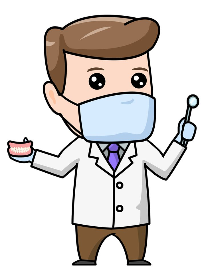 dentist clipart mask