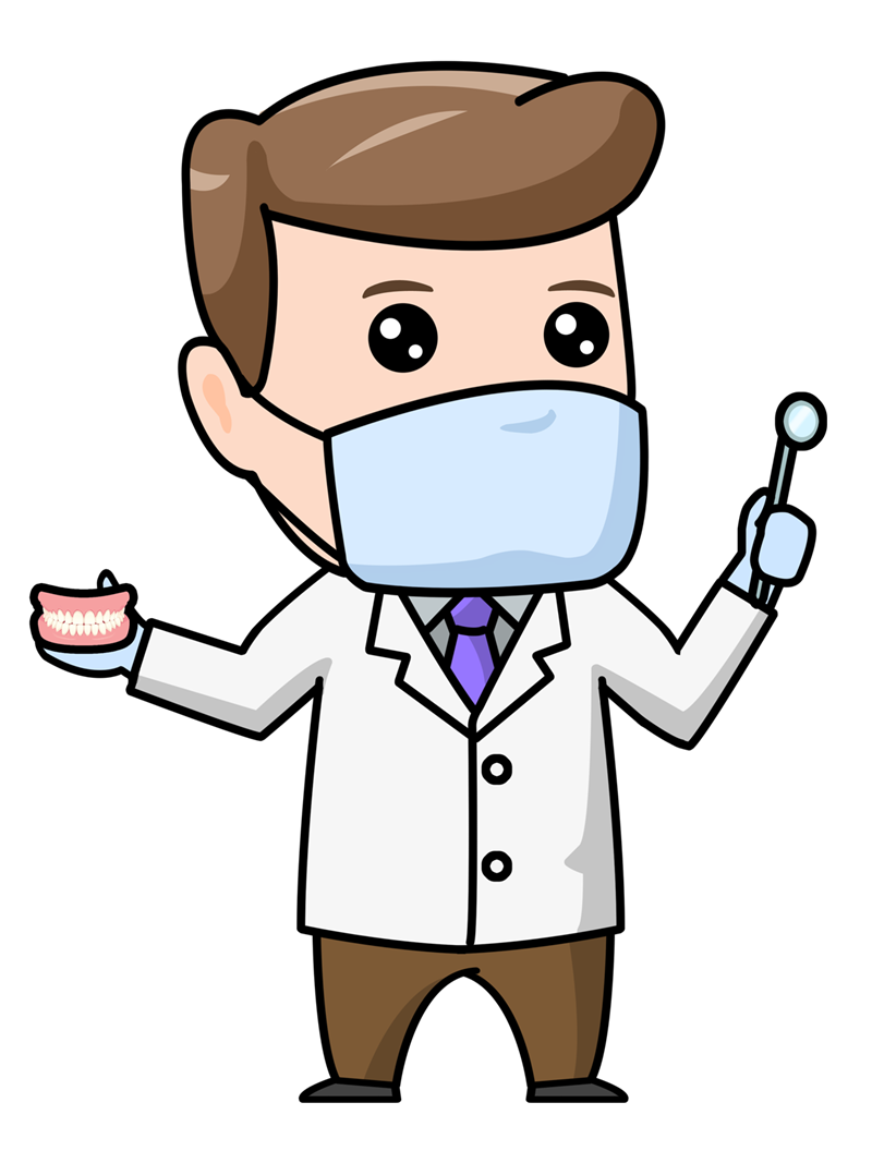 dentist clipart man