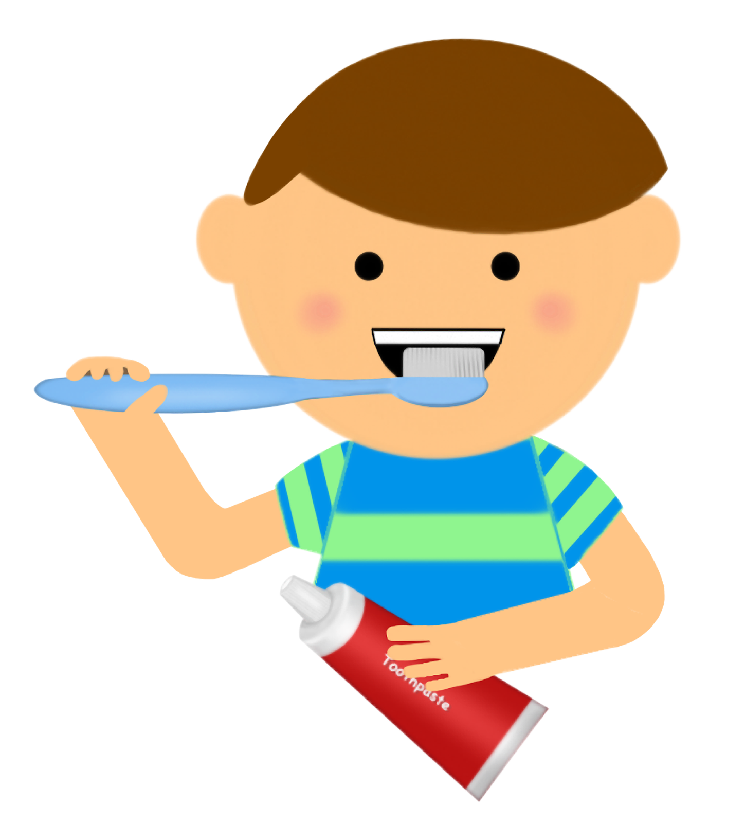 Dental clipart dental material. Brushing teeth pictures cliparts