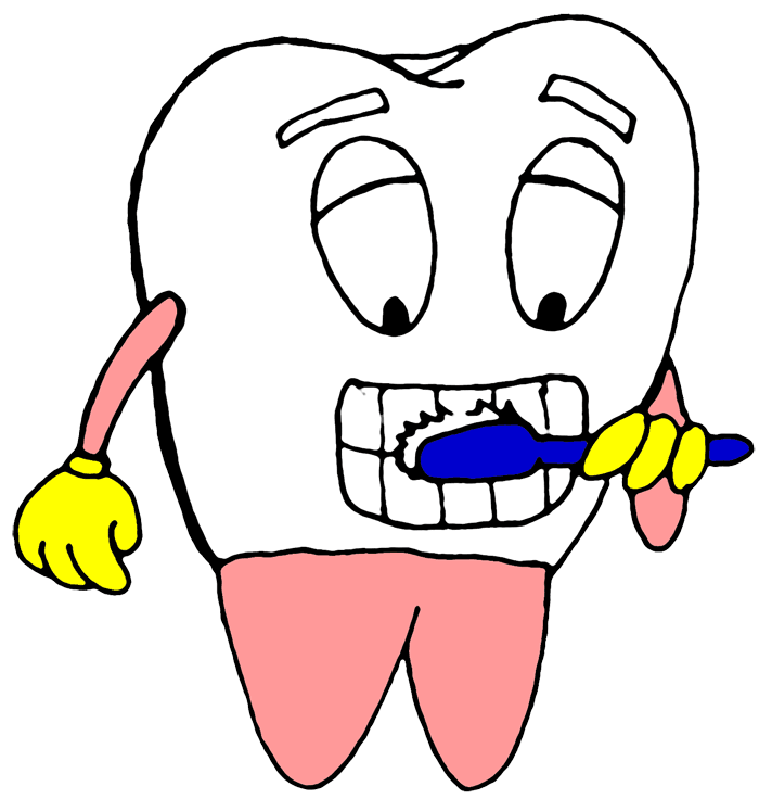 Braces clipart tooth cartoon. Free perfect teeth cliparts