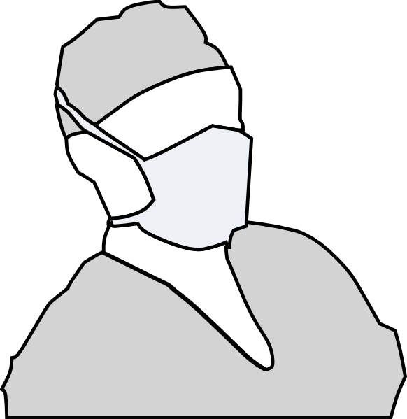 Surgeon clipart nose mask. Free surgical cliparts download