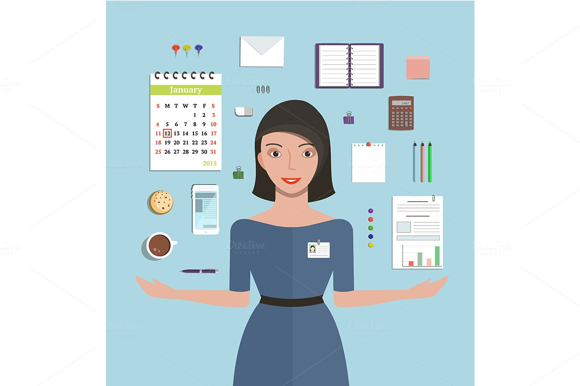 Department clipart coordinator. Free cliparts office management