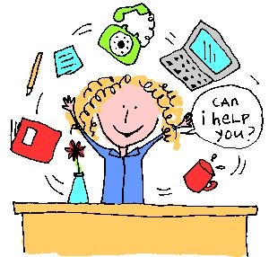 Department clipart office assistant. Needed teacher lab library