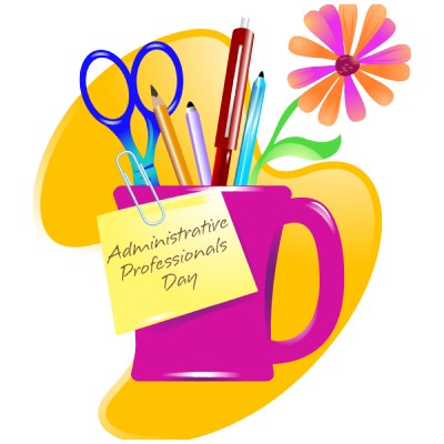 Department clipart office assistant. Happy administrative day images