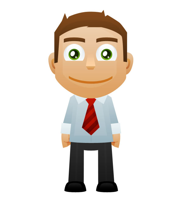 Department clipart office guy. Worker mascot