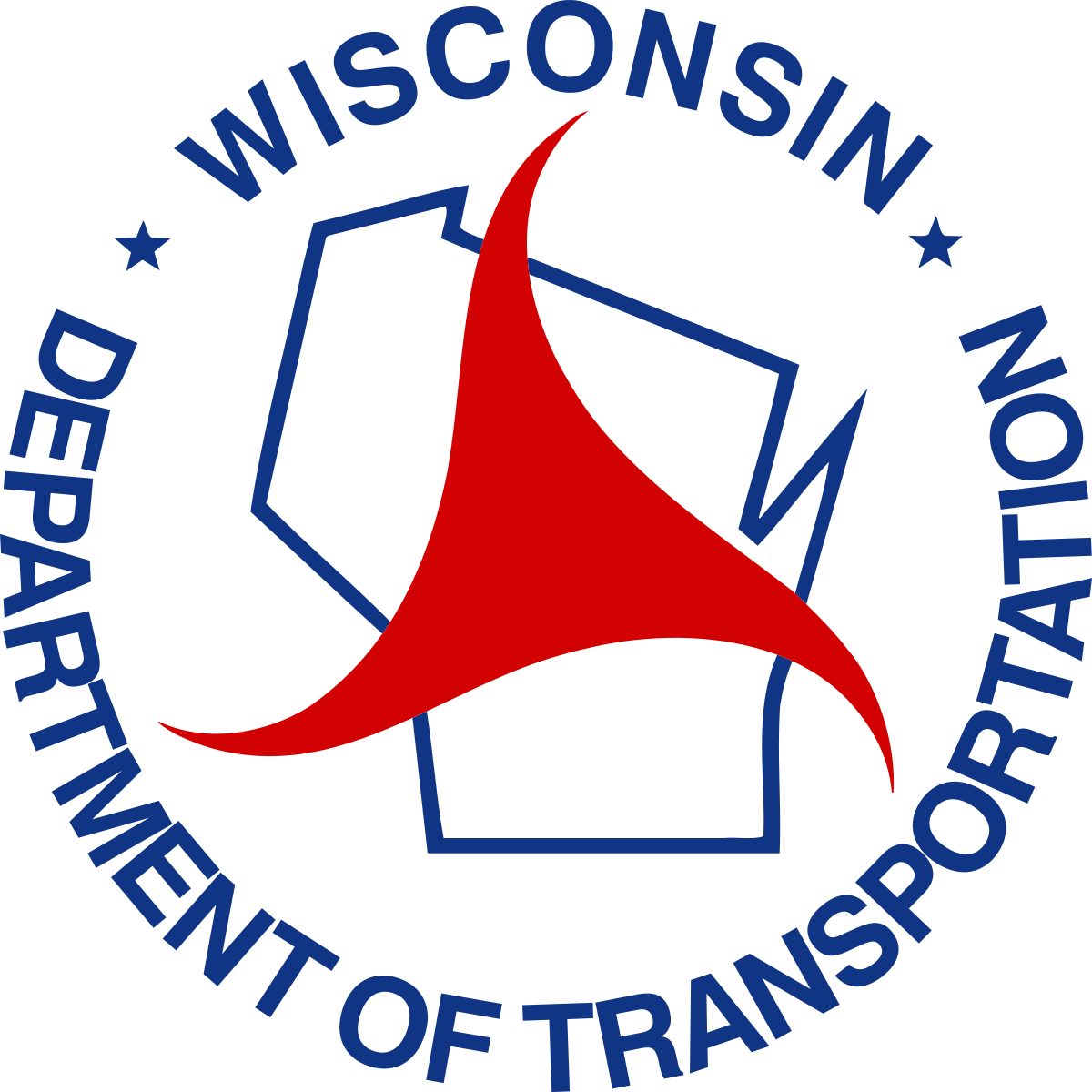 Department clipart sale department. Wisconsin of transportation wikipedia