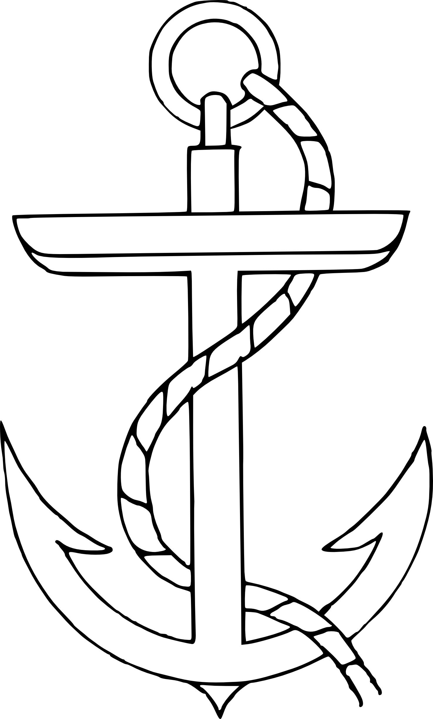 Anchor clipart colored. With heart clip art
