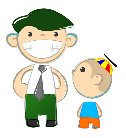 Fathers clipart cute. Free father son download