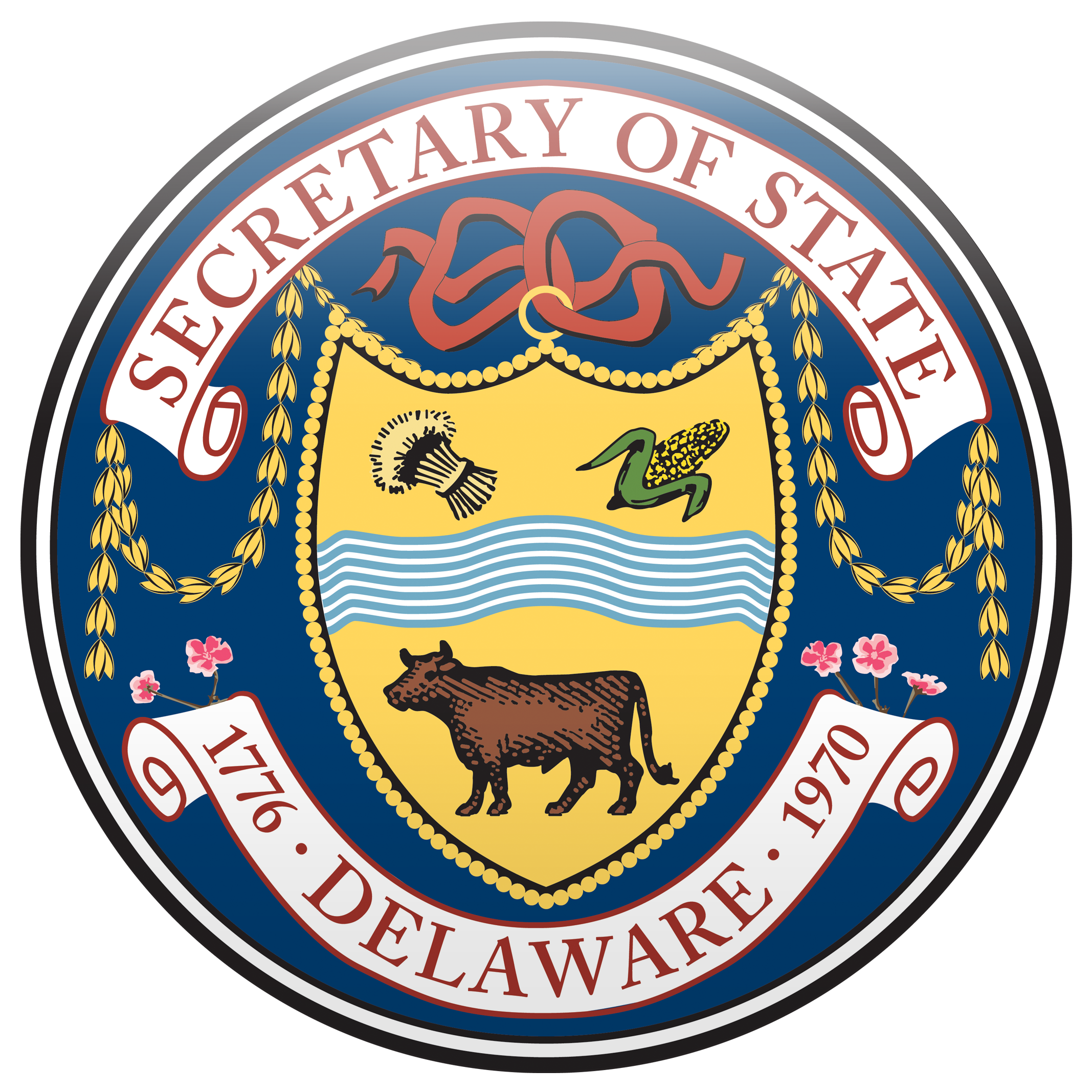 Department of state seal png. Emblems request form delaware