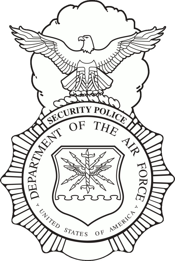 Department of the air force png. File usaf security forces