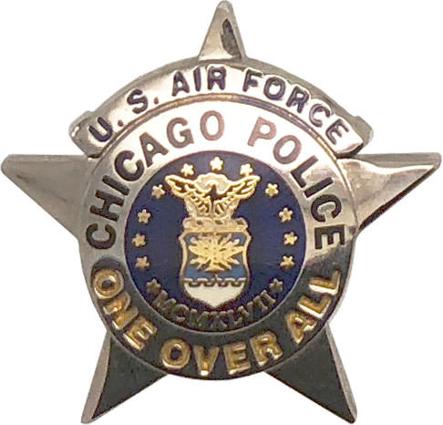 Department of the air force png. Chicago police star lapel