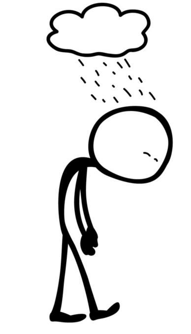 Depression clipart. Acupuncture for and