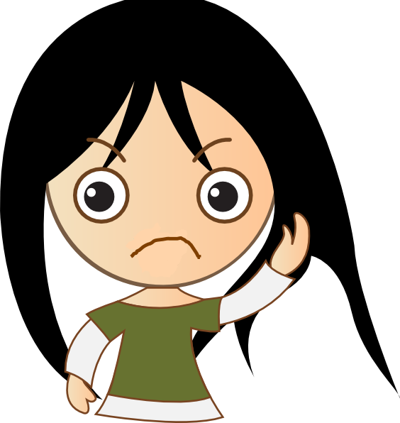 Sad cartoon png. Depression clipart disappointed free
