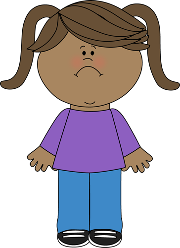 Emotions clipart sad friend. Free girls disappointed cliparts