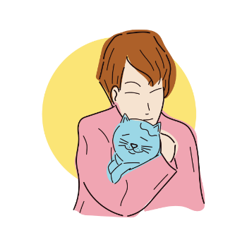 Depression clipart disapointed. Do cats help with