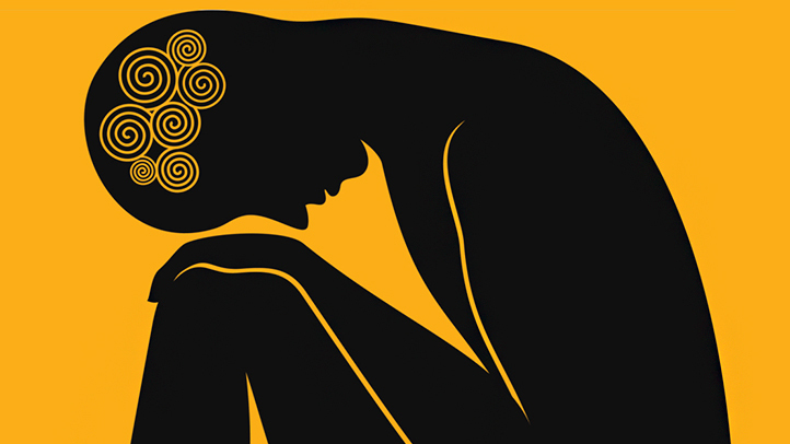 Anxiety clipart depression. Hudhuhandhu work of art