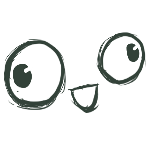 Derp eyes png. My first by megaderpplz