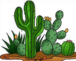 Desert clipart. Free cactus and