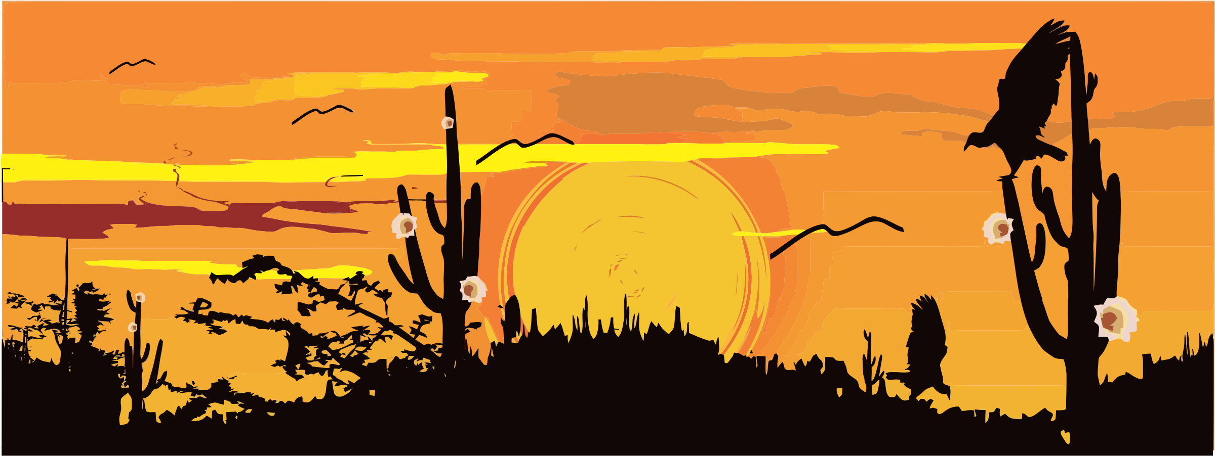 Desert clipart svg. Silhouette icons png free