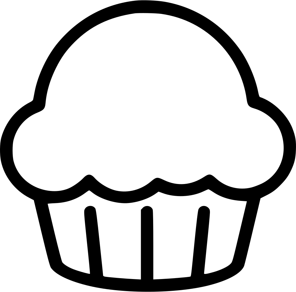 Desert clipart svg. Cupcake sweets png icon