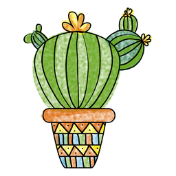 Desert clipart watercolor. Hand drawn multiple cactus