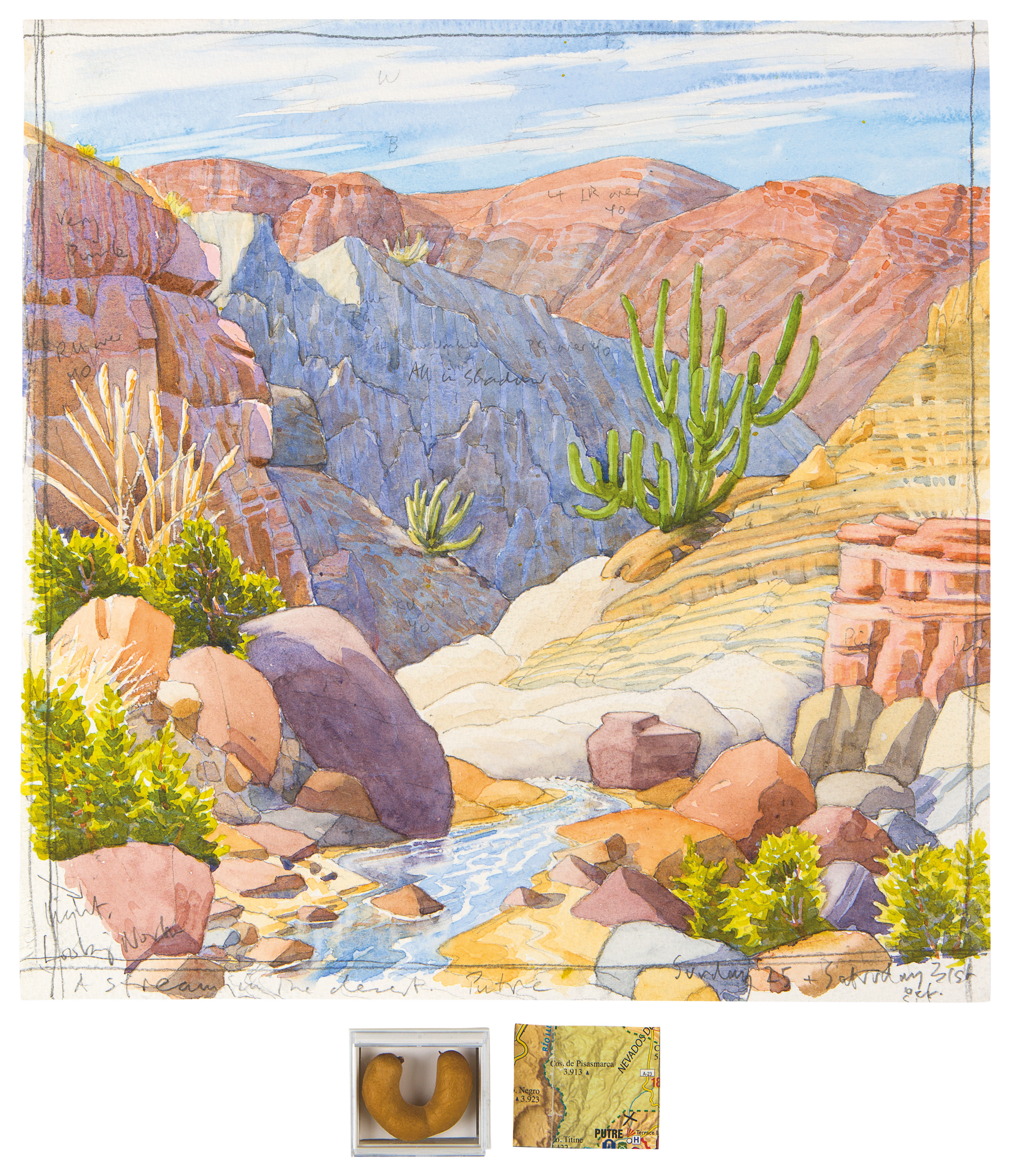 Desert clipart watercolor. The foster art wilderness