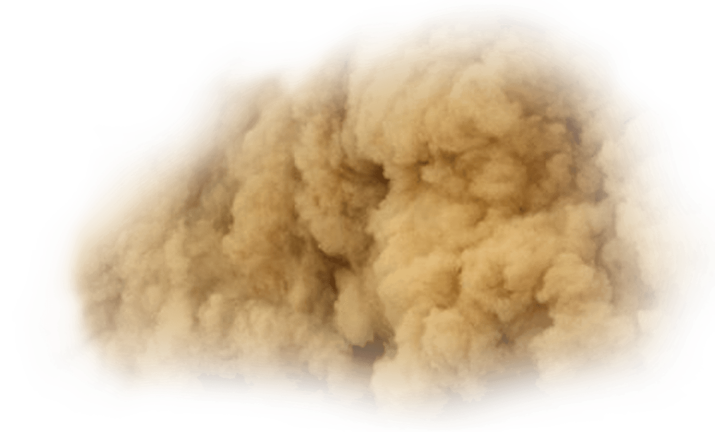 Sand dust png. Desert storm transparent stickpng