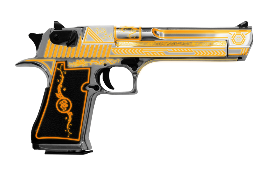 Desert eagle png. Tron edition by patb