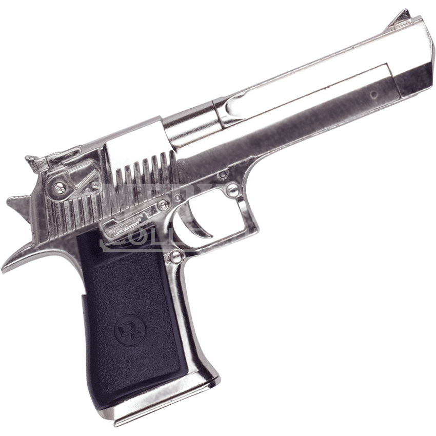 Desert eagle png. Chrome finish ac n