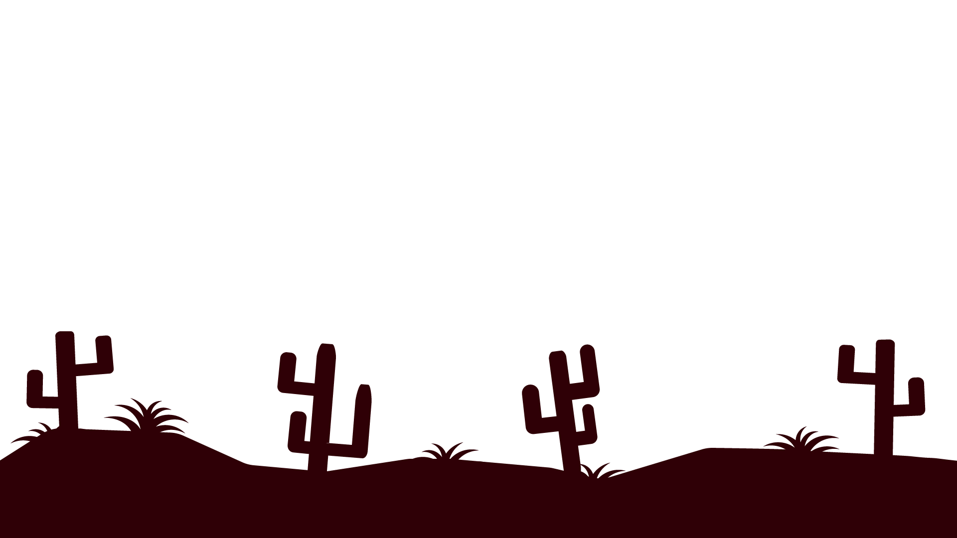 Desert silhouette png. Parallax background by cryptogene