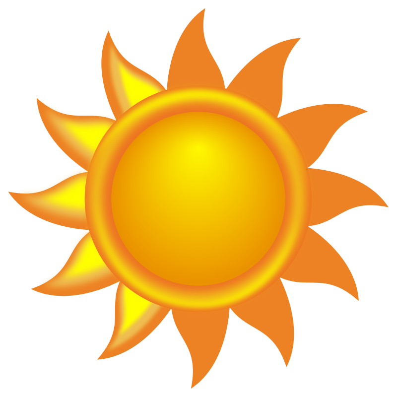 Desert sun png. Collection of clipart