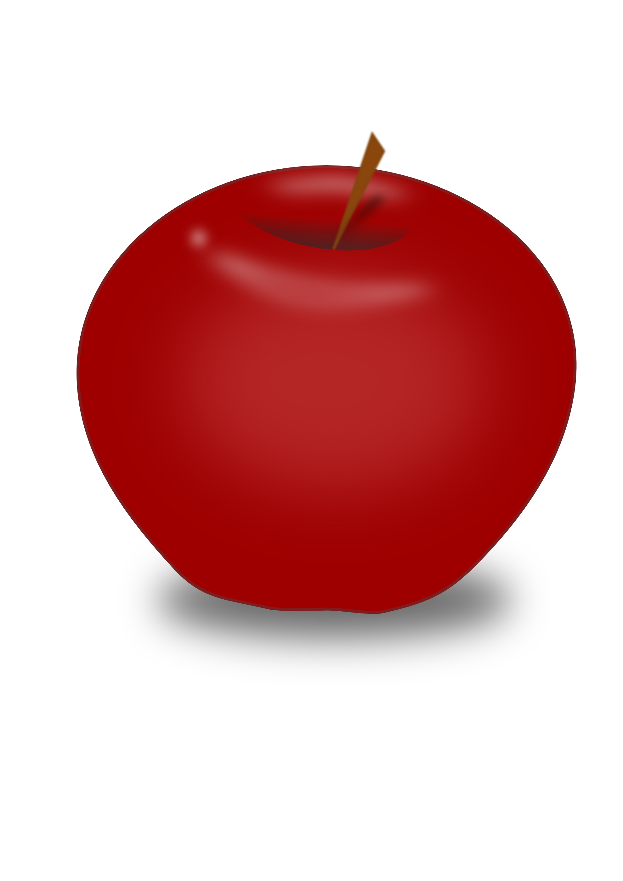 Apple clip art png. Red image purepng free