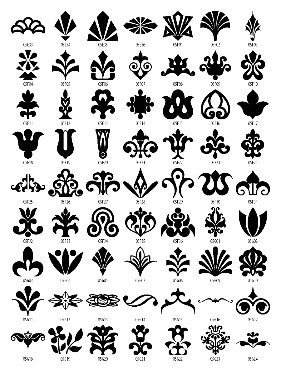 Design clipart. Free patterns download elements