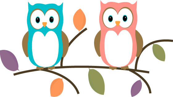 Cute design clipart at. Owl clip art tree branch image black and white