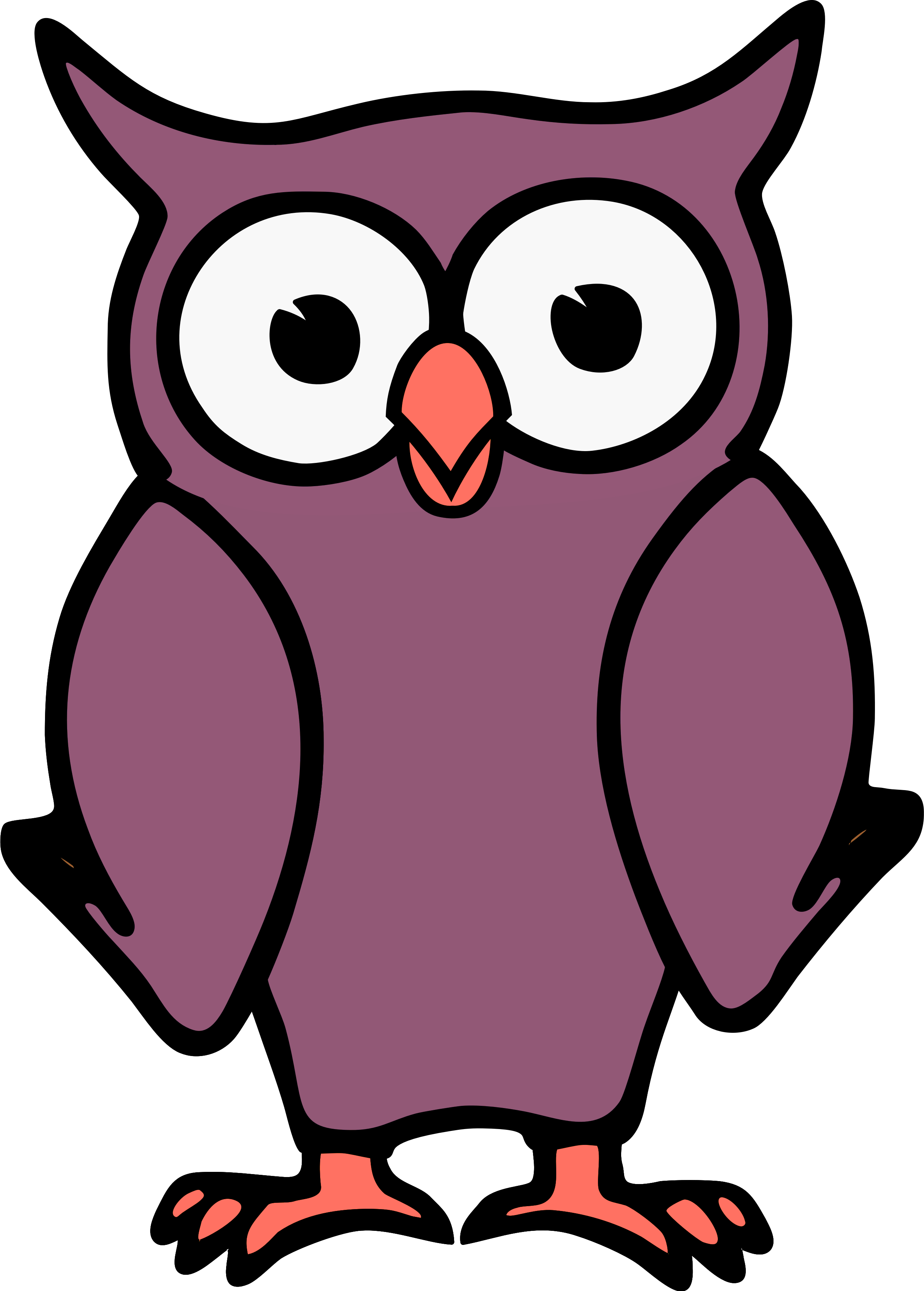 Design clipart owl. Cartoon image id png