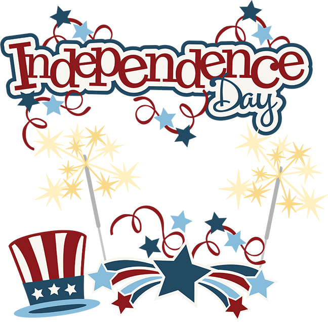 Svg design 4th july. Independence day scrapbook collection