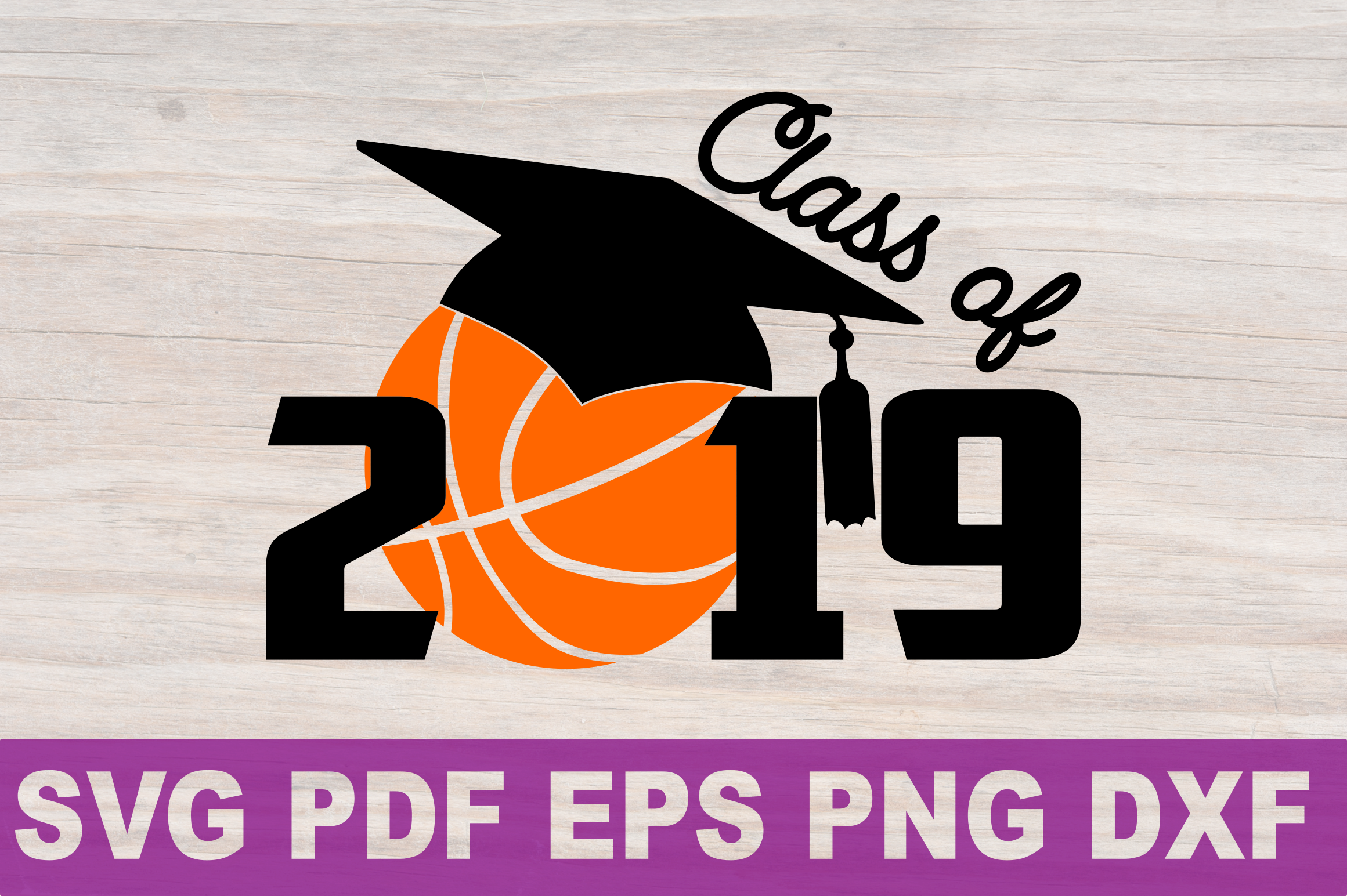 Svg class 2019. Basketball senior gift shirt
