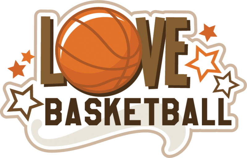 Design svg basketball. Love scrapbook title file
