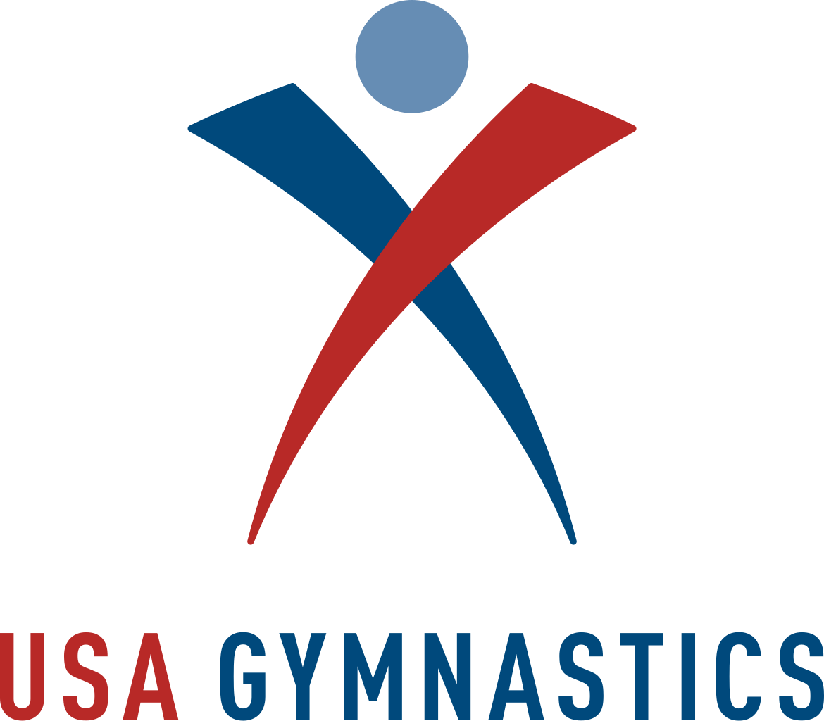 Gymnast vector cut out. File usa gymnastics logo