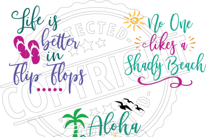 Design svg summer. And beach dxf png
